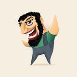 bearded man Στοκ εικόνες με δικαίωμα ελεύθερης χρήσης