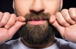 Bearded man Stock Photography
