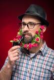Bearded man Stock Photo