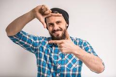 Bearded man Stock Photos