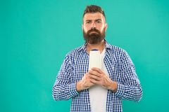 Bearded man. Facial hair and shaving. Choosing shampoo and hair conditioner. Hair and beard care. Male fashion. Mature. Hipster with beard. brutal caucasian stock photography