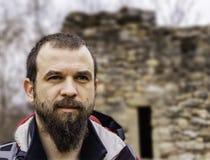Bearded Man Portrait Stock Image