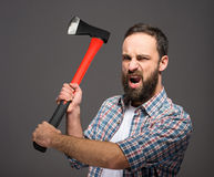 Bearded man Royalty Free Stock Photography