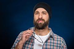 Bearded man Royalty Free Stock Image