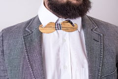 Bearded man in a suit Stock Photography