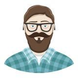 Bearded man. Stock Photo