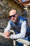 Bearded man Royalty Free Stock Photos