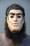 Bearded Mask Royalty Free Stock Photography