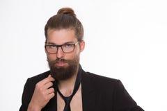 Bearded model Royalty Free Stock Photo