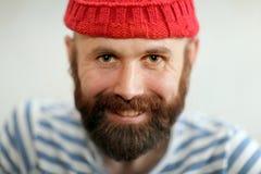 Bearded sailor Stock Photo