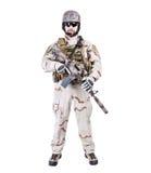 Bearded special warfare operator Royalty Free Stock Photo