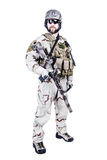 Bearded special warfare operator Stock Image