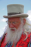 Bearded story teller at Guilfest Festival Royalty Free Stock Image
