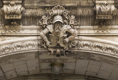 Bearded warrior on George Gate Royalty Free Stock Photo