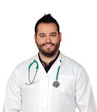 Bearded young doctor Stock Image
