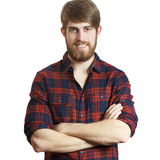 Bearded young man Royalty Free Stock Photo