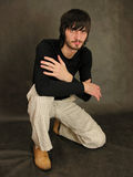 beardman καθίστε Στοκ εικόνα με δικαίωμα ελεύθερης χρήσης