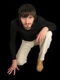 beardman καθίστε Στοκ εικόνες με δικαίωμα ελεύθερης χρήσης