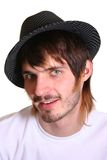 beardman καπέλο Στοκ Εικόνες