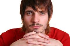 beardman λυπημένος Στοκ φωτογραφία με δικαίωμα ελεύθερης χρήσης