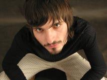 beardman сидите Стоковая Фотография RF