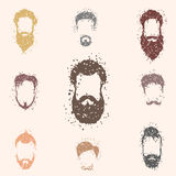 Beards Royalty Free Stock Images