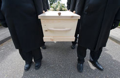 Bearers with coffin Stock Photography