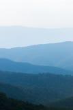 Bearfence berglandskap i den Shenandoah nationalparken, oskuld Arkivfoton
