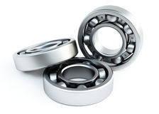 Bearing. Ball bearing isolated on white background Stock Images