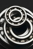 Bearing. Shiny ball bearings - small and large ones Royalty Free Stock Photography