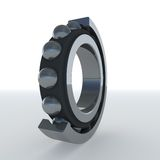 Bearing 3d. Bearing section in 3d with sky reflection Royalty Free Stock Images