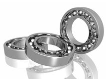 Bearing. Isolated in white background Stock Photography