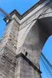 Bearing of Brooklyn Bridge in New York Stock Photography