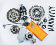 Bearing for car on white background Stock Images