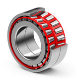 The bearing. 3d generated picture of a bearing on a white floor Stock Photography