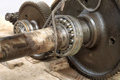 Bearing damage. Royalty Free Stock Photography