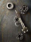 Bearing and gear royalty free stock image