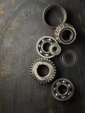 Bearing and gear Royalty Free Stock Photo