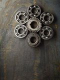 Bearing and gear Stock Image