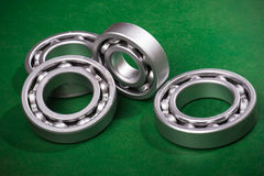 Bearing on green background Stock Photography