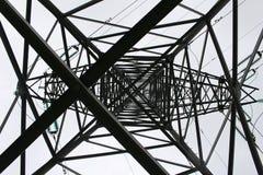 Bearing high-voltage line Stock Photos