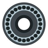 Bearing icon isolated Royalty Free Stock Image
