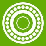 Bearing icon green Royalty Free Stock Images