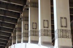 Bearing metal bridge Royalty Free Stock Images