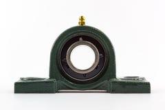 Bearing unit. Ball bearing unit isolated on a white background Royalty Free Stock Photo
