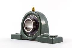 Bearing unit. Ball bearing unit isolated on a white background Royalty Free Stock Image