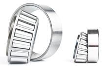 Bearings. The bearing. Details rotor the bearing - heavy mechanical engineering royalty free stock photos