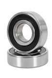 Bearings. Isolated on a white background, with clipping path stock photo