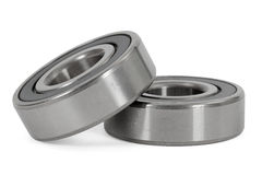 Bearings. On a white background, with clipping path stock photo