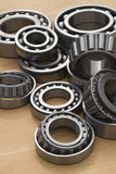 Bearings. A lot of different bearings Royalty Free Stock Photo